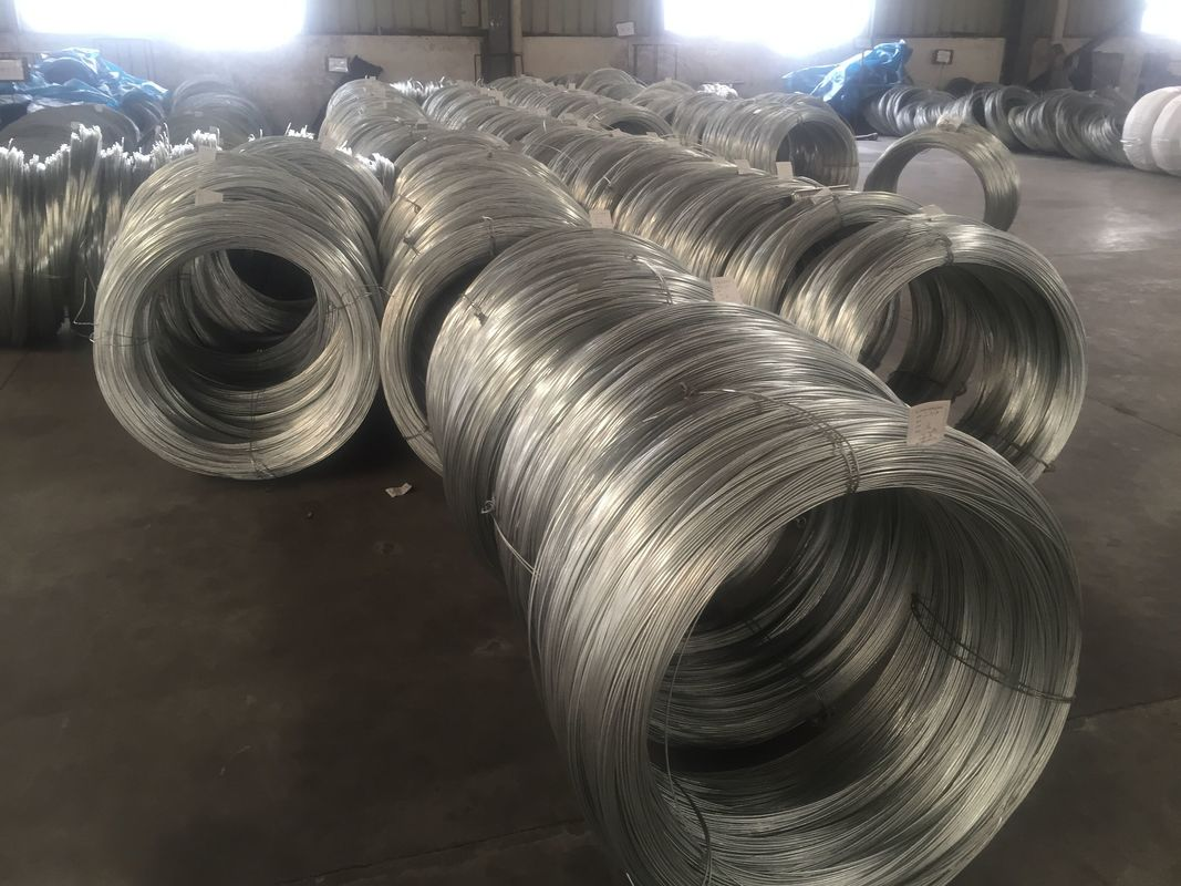 High Strength Galvanized Steel Core Wire Heavy Zinc Coating Greased For ACSR ASTM B498